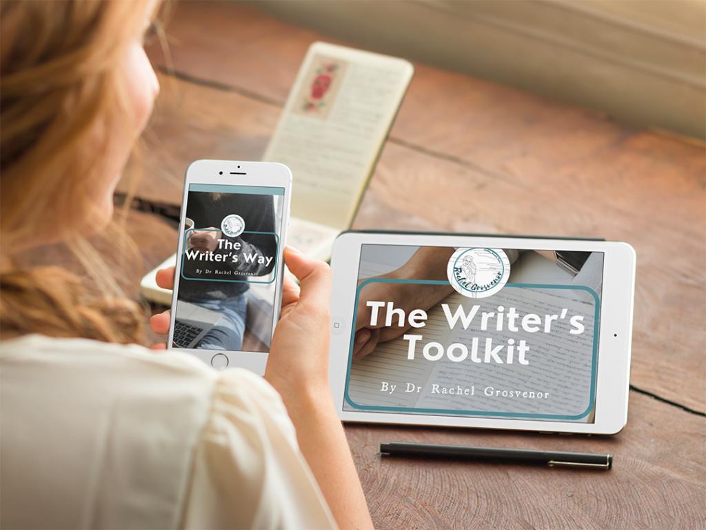 rachel grosvenor writers toolkit